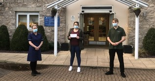 Kendal Care Home receives more Community Spirit