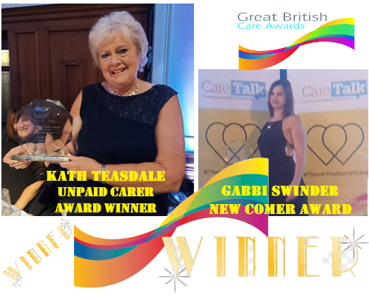 OUR WINNERS OF NORTH EAST GREAT BRITISH CARE AWARDS